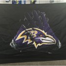 Baltimore Ravens Flag 3x5 FT Banner Gloves Logo 90x150cm 2 metal grommets
