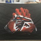 Atlanta Falcons 2 Gloves 3x5 ft flag 100D Polyester flag 90x150cm