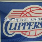 Los Angeles Clippers logo flag 100D polyester 2 metal Grommets 3ftx5ft Flag
