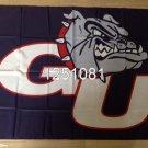 Gonzaga Bulldogs Flag 3ftx5ft Banner 100D Polyester NCAA Flag