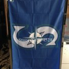 MLB Seattle Mariners Flag 3x5 FT 150X90CM Banner 100D Polyester flag
