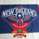 New Orleans Pelicans Flag 3ft x 5ft Polyester NBA Banner Custom flag