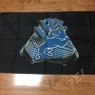 Detroit Lions Glove 3x5 ft 100D Polyester flag 90x150cm 2 metal grommets
