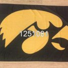 Iowa Hawkeyes Flag 3ftx5ft Banner 100D Polyester NCAA Flag