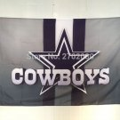 Dallas Cowboys stripes Flag 90x150cm metal grommets 3x5 banner