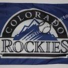 MLB Colorado Rockies Flag 3x5 FT 150X90CM Banner 100D Polyester flag