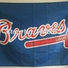 MLB Atlanta Braves Outdoor Banner Flag 3 x 5ft Custom Football Hockey Baseball Flag