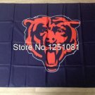 Chicago Bears NFL car flag 12x18inches 30x45cm double sided 100D Polyester