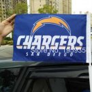San Diego Chargers car flag 12x18 inches 100D Polyester Double sided with flag style 1