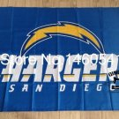 San Diego Chargers car flag 12x18 inches 100D Polyester Double sided with flag style 2