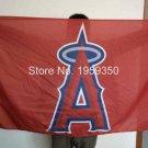 Los Angeles Angels of Anaheim Flag 3ft x 5ft Polyester MLB Banner Flying Custom flag