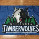 Minnesota Timberwolves Flag 3ft x 5ft 100D Polyester NBA flag