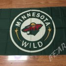 Minnesota Wild Flag 3ftx5ft Banner 100D Polyester NHL Flag style 1