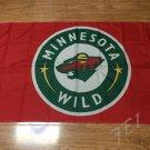 Minnesota Wild Flag 3ftx5ft Banner 100D Polyester NHL Flag style 2
