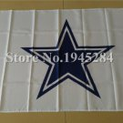 Dallas Cowboys logo flag 3ftx5ft Banner 100D Polyester Flag metal Grommets style 1