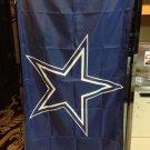 Dallas Cowboys logo flag 3ftx5ft Banner 100D Polyester Flag metal Grommets style 3