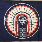 Illinois Fighting Illini Helmet Flag 3ftx5ft Banner 100D Polyester NCAA Flag style 2