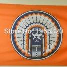 Illinois Fighting Illini Helmet Flag 3ftx5ft Banner 100D Polyester NCAA Flag style 5