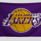 Los Angeles Lakers Flag 3x5 FT 150X90CM Banner 100D Polyester NBA flag
