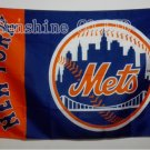 NY Mets 2015 NL Champs Large Outdoor Flag 3x5ft