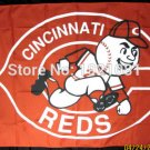 Cincinnati Reds Team Fan Flag 3' x 5' MLB NFL Fan Flag 150X90CM