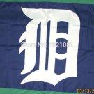 Detroit Tigers logo flag 3ftx5ft Banner 100D Polyester MLB Flag Brass Grommets