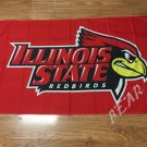Illinois State Redbirds Flag 3ftx5ft Banner 100D Polyester NCAA Flag
