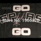 go spurs go flag 3FTx5FT 150X90CM Banner 100D Polyester flag