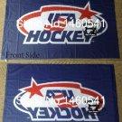 USA Hockey 3FT x5 FT 150X90CM Banner 100D Polyester NHL flag