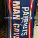 New England Patriots man cave flag 3ftx5ft Banner 100D Polyester Flag metal Grommets