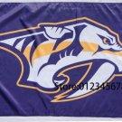 Nashville Predators NHL Flag 3ftx5ft Banner 100D Polyester NHL Flag