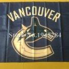 Vancouver Canucks Flag 3FT x5 FT 150X90CM Banner 100D Polyester NHL flag