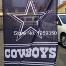 "Dallas Cowboys HOUSE FLAG VERTICAL BANNER 28"" wide x 44"" long"" single size 110g"