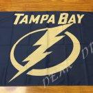 Tampa Bay Lightning Flag 3FTx5 FT 150X90CM Banner 100D Polyester NHL flag