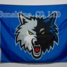 Minnesota Timberwolves Flag 3ft x 5ft Polyester NBA Banner Custom flag