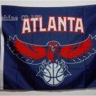 Atlanta Hawks Large Logo Banner Flag NBA 3' x 5' Fan Flag 150X90CM