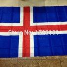 Iceland National Flag 3x5ft 150x90cm 100D Polyester
