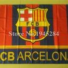 BARCELONA FCB MLS SOCCER 3x5ft Polyester Banner Flag