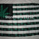 weed plant 3ftx5ft Banner 100D Polyester Flag metal Grommets 90x150cm