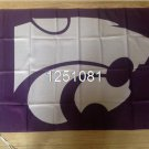Kansas State Wildcats Flag 3ftx5ft Banner 100D Polyester NCAA Flag