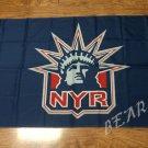 New York Rangers Alternate Flag 3ftx5ft Banner 100D Polyester NHL Flag