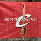 CLEVELAND CAVALIERS FLAG 3ft x 5ft Polyester NBA Banner Custom flag