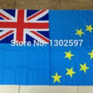 Tuvalu and Tobago National Flag 3x5ft 150x90cm 100D Polyester