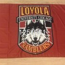 NCAA Loyola Chicago Ramblers Banner Flag 3X5FT 100D polyester