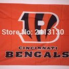 Cincinnati Bengals 3ft x 5ft Polyester NFL cincinnati bengals Banner flag