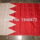 Bahrain National Flag 3x5ft 150x90cm 100D Polyester