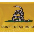 dont tread on me'Warning of prohibited action car flag