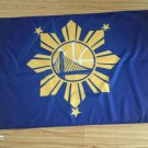 Golden State Warriors filipino heritage nigh Flag 3x5 FT 150X90CM Banner 100D Polyester flag