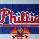 Philadelphia Phillies Logo flag 3x5 FT Banner 100D Polyester MLB Flag Brass Grommets