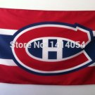 Montreal Canadiens Logo flag 3x5 FT Banner 100D Polyester NHL Flag Brass Grommets